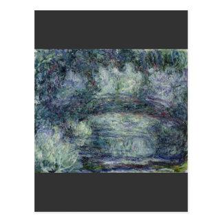 Claude Monet - Pont Japonais Japanilainen silta Postcard