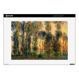 Claude Monet: Poplars at Giverny in Sunrise