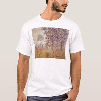 Claude Monet - Poplars in the Sun T-Shirt