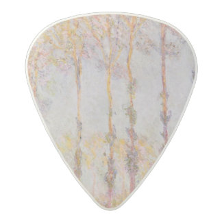 Claude Monet | Poplars on the Banks of the Epte Acetal Guitar Pick