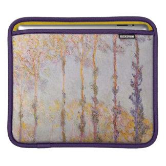 Claude Monet   Poplars on the Banks of the Epte iPad Sleeve