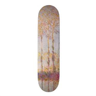 Claude Monet | Poplars on the Banks of the Epte Skateboard Deck