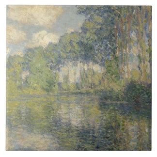 Claude Monet - Poplars on the Epte Ceramic Tile