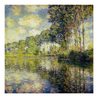 Claude Monet - Poplars on the Epte Poster