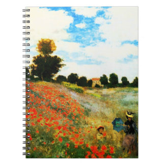 Claude Monet-Poppies at Argenteuil Notebook