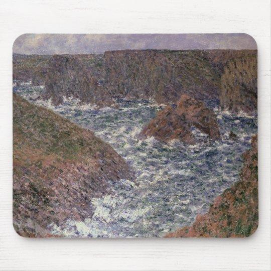 Claude Monet | Port Domois at Belle Ile, 1886 Mouse Pad