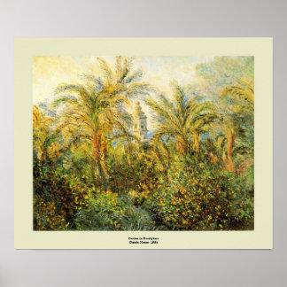 Claude Monet Póster