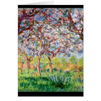 Claude Monet | Printemps a Giverny, 1903 Card