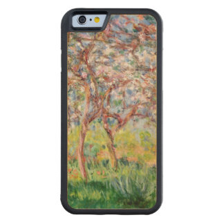 Claude Monet | Printemps a Giverny Carved Maple iPhone 6 Bumper Case