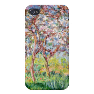 Claude Monet | Printemps a Giverny iPhone 4/4S Cases