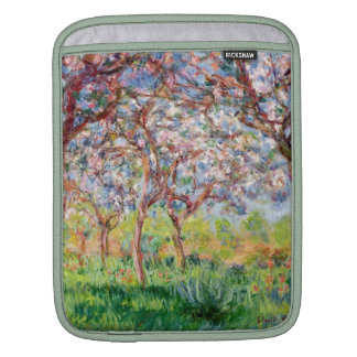 Claude Monet | Printemps a Giverny Sleeves For iPads