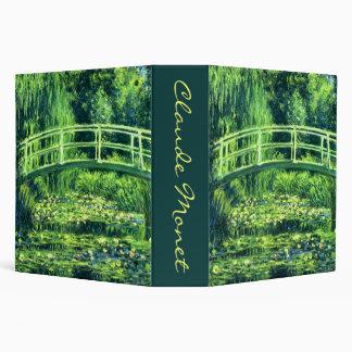 """Claude Monet: Puente sobre una charca de los Carpeta 2"""""""