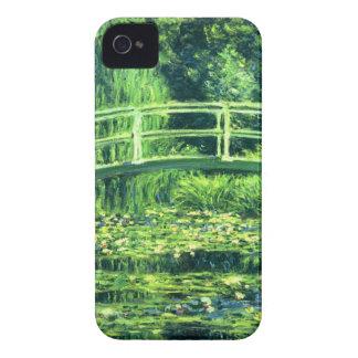 Claude Monet: Puente sobre una charca de los Case-Mate iPhone 4 Coberturas