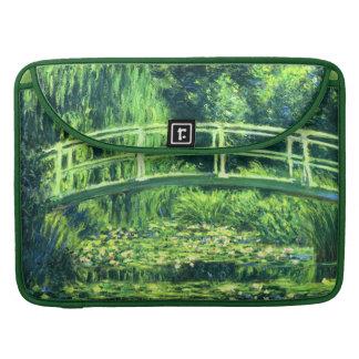 Claude Monet: Puente sobre una charca de los Funda Para Macbook Pro