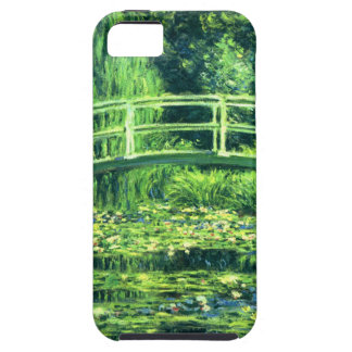 Claude Monet: Puente sobre una charca de los iPhone 5 Fundas