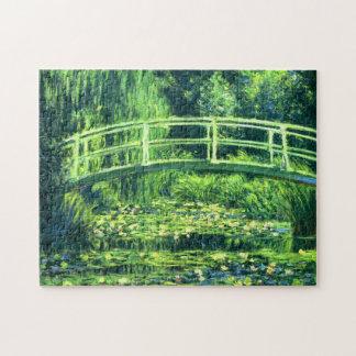 Claude Monet: Puente sobre una charca de los Rompecabezas Con Fotos