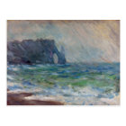 Claude Monet Rainfall Etretat Normandy France Postcard