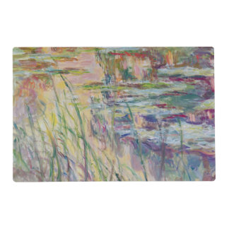 Claude Monet | Reflections on the Water, 1917 Placemat