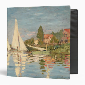 Claude Monet | Regatta at Argenteuil, c.1872 Binder