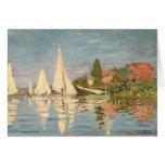 Claude Monet | Regatta at Argenteuil, c.1872 Card