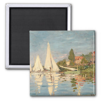 Claude Monet | Regatta at Argenteuil, c.1872 Magnet