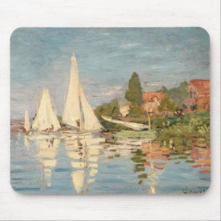 Claude Monet | Regatta at Argenteuil, c.1872 Mouse Pad