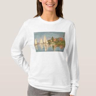 Claude Monet | Regatta at Argenteuil, c.1872 T-Shirt