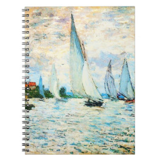 Claude Monet-Regatta at Argenteuil Notebook