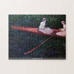 Claude Monet - River Epte Jigsaw Puzzle