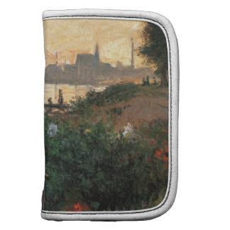 Claude Monet - Riverbank florecido, Argenteuil Planificador