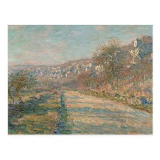 Claude Monet - Road of La Roche-Guyon Postcard