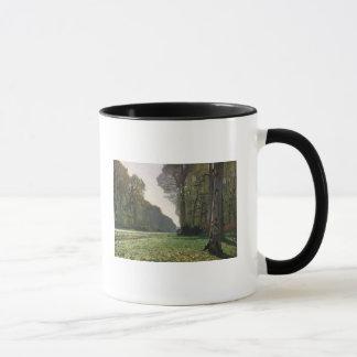 Claude Monet | Road to Bas-Breau, Fontainebleau Mug