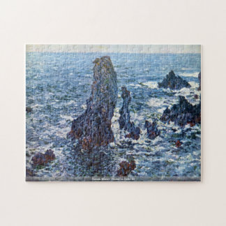 Claude Monet - Rocks on Belle-Ile Jigsaw Puzzle