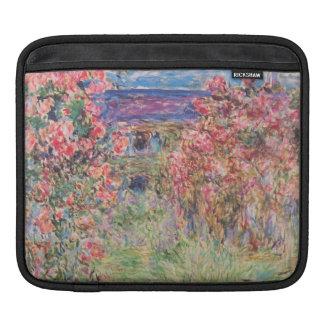 Claude Monet Rose Garden iPad Sleeve