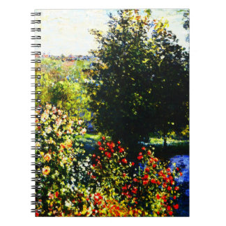 Claude Monet-Roses in the Garden at Montgeron Notebook