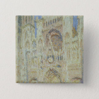 Claude Monet | Rouen Cathedral at Sunset, 1894 Button