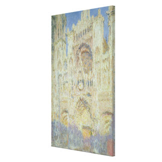 Claude Monet | Rouen Cathedral at Sunset, 1894 Canvas Print