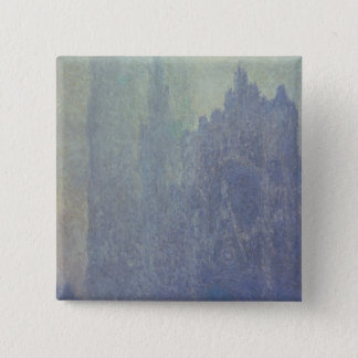 Claude Monet | Rouen Cathedral, Foggy Weather Pinback Button
