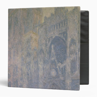 Claude Monet | Rouen Cathedral, Harmony in White 3 Ring Binder