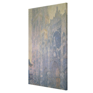 Claude Monet | Rouen Cathedral, Harmony in White Canvas Print