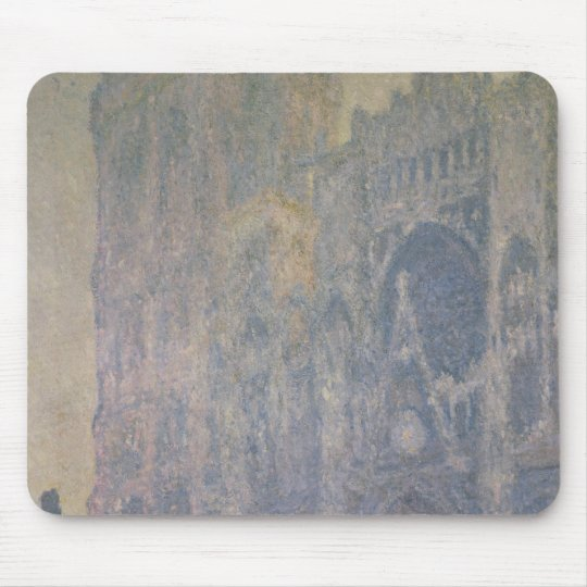 Claude Monet | Rouen Cathedral, Harmony in White Mouse Pad