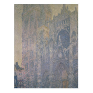 Claude Monet | Rouen Cathedral, Harmony in White Postcard