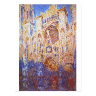 Claude Monet - Rouen Cathedral Postcard