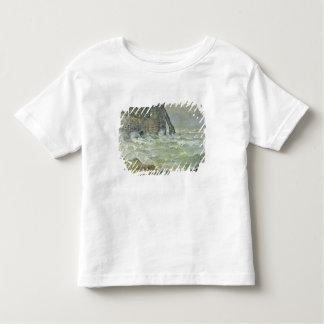 Claude Monet | Rough Sea at Etretat, 1883 Toddler T-shirt