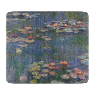 Claude Monet's Water Lilies Cutting Board