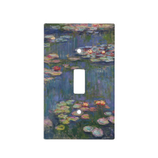 Claude Monet's Water Lilies Light Switch Cover