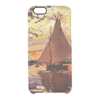 Claude Monet-Sailboat at Le Petit-Gennevilliers Clear iPhone 6/6S Case