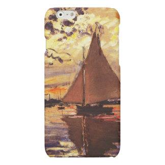Claude Monet-Sailboat at Le Petit-Gennevilliers Matte iPhone 6 Case