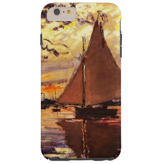 Claude Monet-Sailboat at Le Petit-Gennevilliers Tough iPhone 6 Plus Case