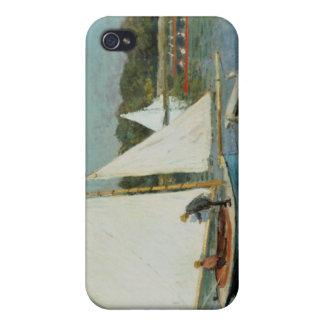 Claude Monet | Sailing at Argenteuil, c.1874 iPhone 4/4S Cases